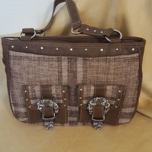 NWT Trenditions hand bag purse western